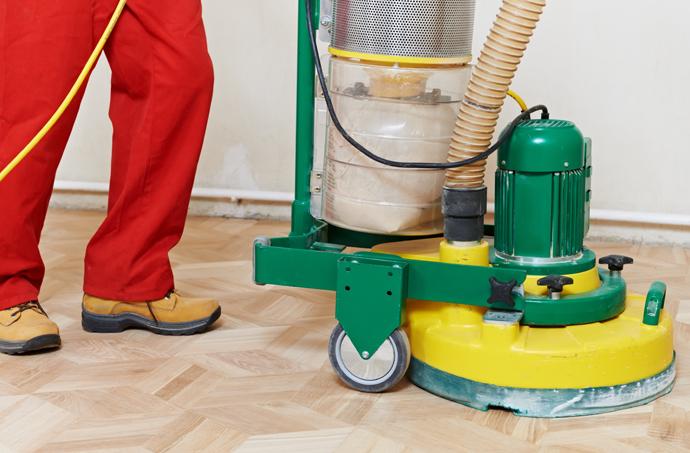 Bei KTG mieten Sie Schleifmaschinen für Wand und Boden